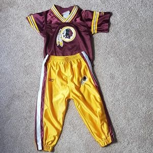 Reebok size 24 month Redskin football outfit